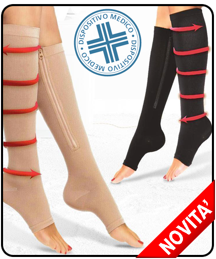 calze confort per circolazione e dolori fisici